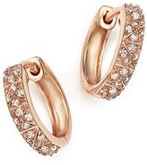 Bloomingdale's Diamond Huggie Earrings in 14K Rose Gold, .20 ct. t.w.