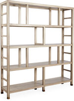 One Kings Lane Washington Bookcase, Whitewash