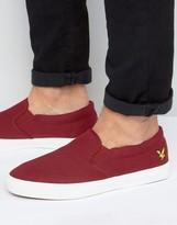 Lyle & Scott Eden Slip On Sneakers