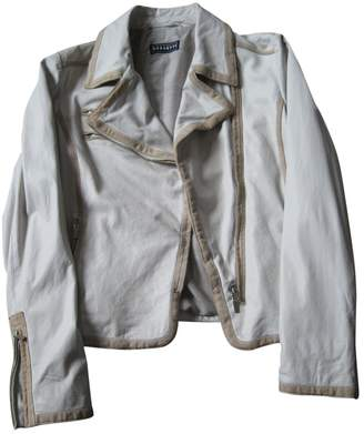 Fratelli Rossetti \N White Leather Leather Jacket for Women