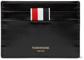 Thom Browne Striped Patent-Leather Cardholder