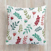 Minted Playful leaves Self-Launch Square Pillows