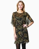 Charming charlie Floral Empire Chiffon Dress