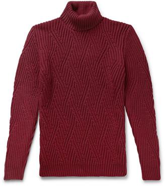 Etro Wool Rollneck Sweater