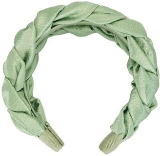 Jennifer Behr Lorelai silk headband