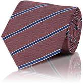 Isaia Men's Striped Silk Necktie