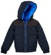 Little Marc Jacobs Boys 4-7) Reversible Hooded Puffer Jacket