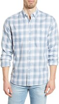 Faherty Beach Plaid Flannel Button-Up Shirt
