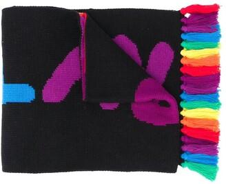 Stella Mccartney Kids Stellabration knitted scarf