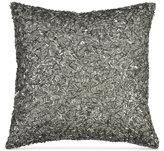 "Donna Karan Home Exhale 12"" Square Beaded Decorative Pillow"