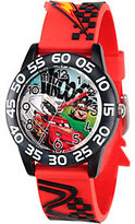 Disney Boys' Red Plastic Watch