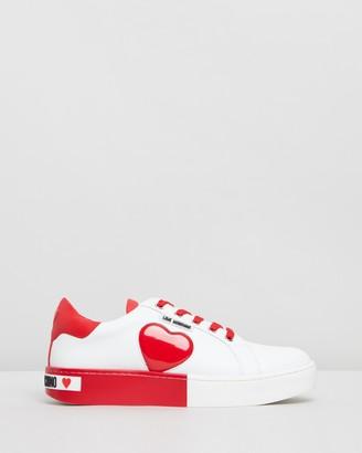 Love Moschino Love Heart Sneakers