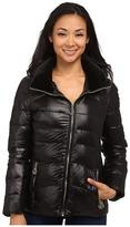 Calvin Klein Short Down Coat w/ Gold Hardware Women's Coat