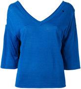 Moschino back print jumper
