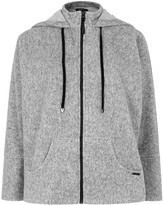 Koral Activewear Descender Grey Fleece Sweatshirt