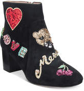 Kate Spade Liverpool Embroidered Booties Women's Shoes
