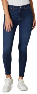 Hudson Barbara High-Rise Ankle Skinny Jeans