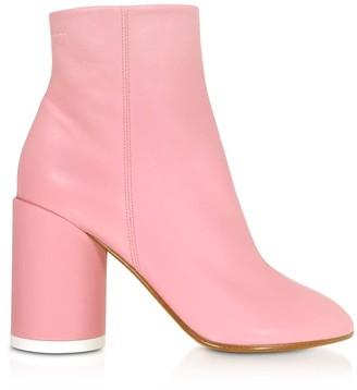 MM6 MAISON MARGIELA Mm6 Maison Martin Margiela Peony Pink Soft Nappa Leather Boots