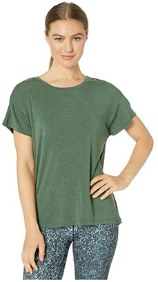 Prana Foundation Slouch Top (Canopy Heather) Women's Clothing