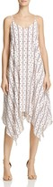 Aqua Diamond & Stripe Handkerchief Dress - 100% Exclusive