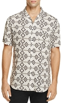 Sovereign Code Graham Geo Print Regular Fit Button-Down Shirt