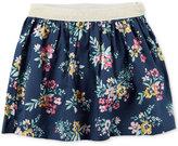Carter's Floral-Print Cotton Skirt, Little Girls (2-6X) and Big Girls (7-16)