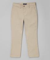 Nautica Khaki Twill Pants - Boys
