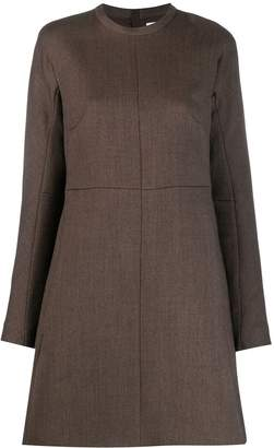 Jil Sander long sleeves shift dress