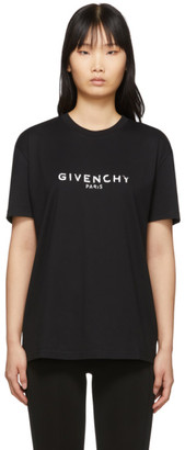 Givenchy Black Vintage T-Shirt