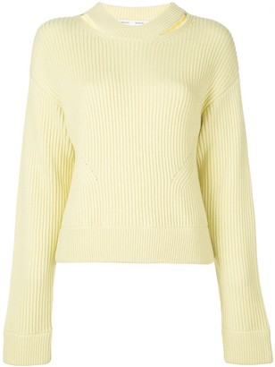 Proenza Schouler White Label Chunky Rib Knit Sweater