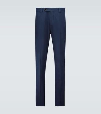 Brunello Cucinelli Leisure Fit gabardine cotton pants