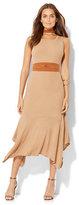 New York & Co. Handkerchief-Hem Sleeveless Sweater Dress
