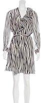 Bouchra Jarrar Resort 2016 Silk Wrap Dress w/ Tags
