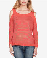 Jessica Simpson Juniors' Cold-Shoulder Sweater