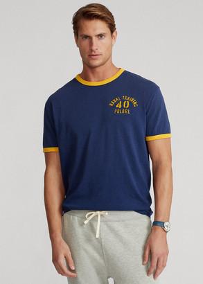 Ralph Lauren Classic Fit Jersey Graphic T-Shirt