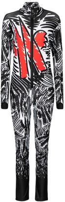 MONCLER GENIUS 3 MONCLER GRENOBLE Printed ski suit