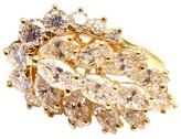 Piaget 18K Yellow Gold Diamond Cocktail Ring