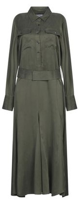 Equipment 3/4 length dress