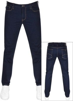 Giorgio Armani Emporio J06 Slim Fit Jeans Blue