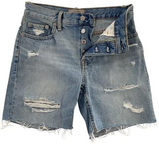 Everlane Blue Denim - Jeans Shorts for Women