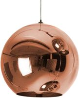 Amonson Lighting Replica Tom Dixon Copper Pendant Light, 20cm