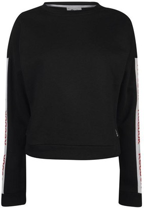 Reebok Linear Crew Neck Sweatshirt Ladies
