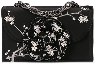 Oscar de la Renta Tro embroidered shoulder bag