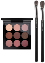 M·A·C Eye Shadow Burgundy Times Nine Set