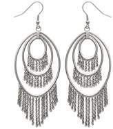Mary Jane MaryJane Women's Earrings Stainless Steel Width 38 Mm Height 100 Mm Material Steel Oval Drop