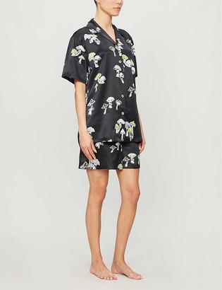 Olivia von Halle Emeli silk pyjama set