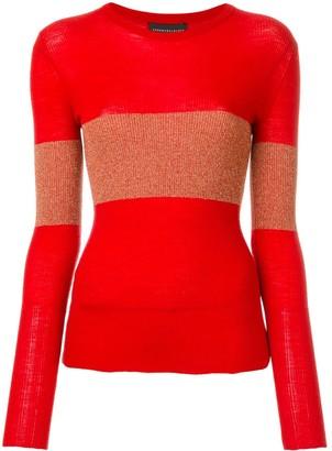 Cashmere In Love cashmere Vivien lurex stripe jumper