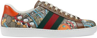 Gucci Men's Disney x Donald Duck Ace sneaker