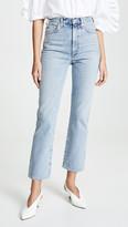 A Gold E High Rise Kick Pinch Waist Jeans
