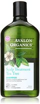 Avalon Scalp Treatment Tea Tree Shampoo, 11 Ounce